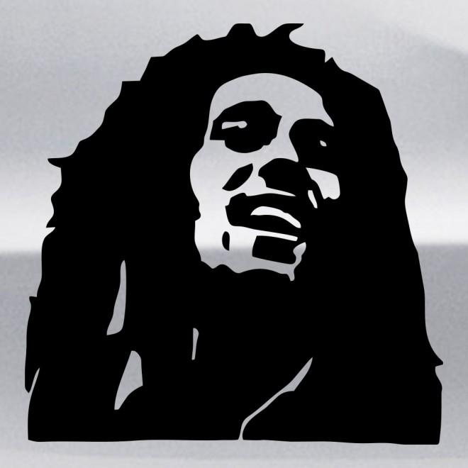 Наклейка Боб Марли, ямайский певец 3