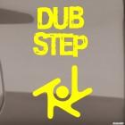 Наклейка Dubstep музыкальный жанр