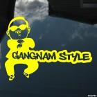 Наклейка PSY Gangnam style сингл южнокорейского исполнителя