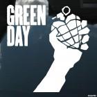 Наклейка Green Day американская панк-рок группа