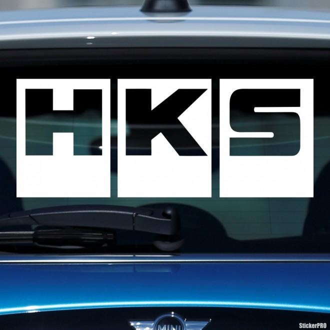 Наклейка HKS Япония