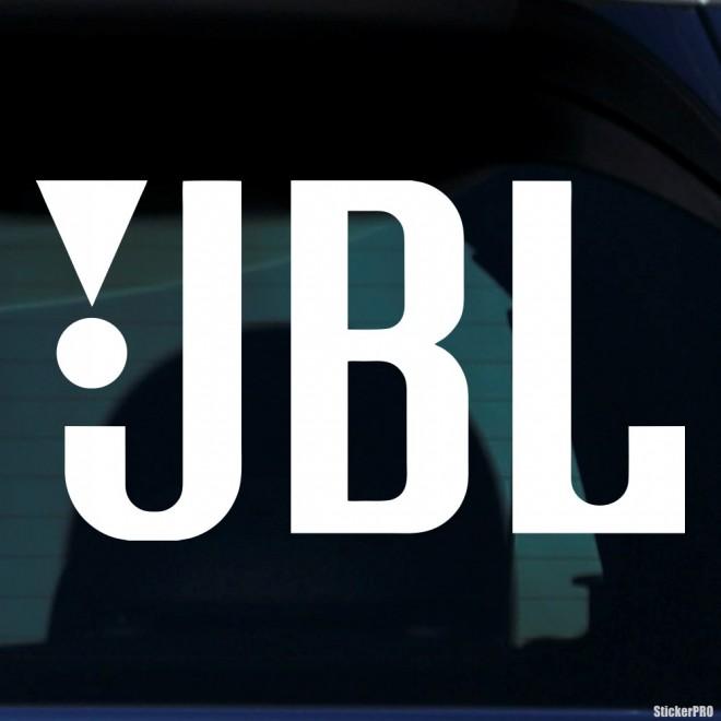 Наклейка JBL аудиотехника США