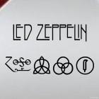 Наклейка Led Zeppelin британская рок-группа