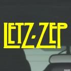 Наклейка Led Zeppelin Letz-Zep британская рок-группа