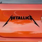 Наклейка Metallica американская метал-группа