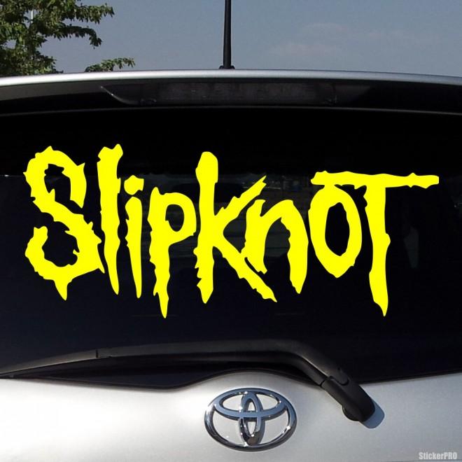 Наклейка Slipknot американская метал-группа