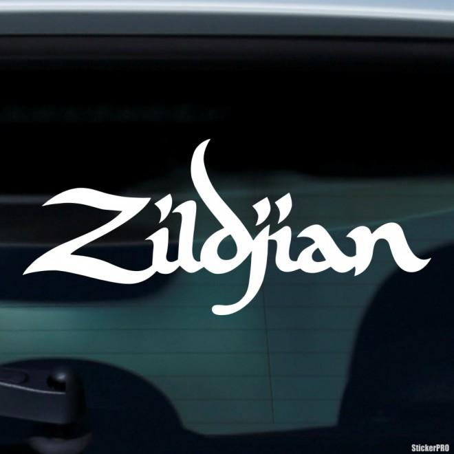 Наклейка Zildjian американский производитель ударных музыкальных инструментов