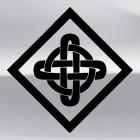 Наклейка кельтский бесконечный узел орнамент 10