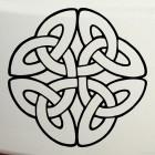 Наклейка кельтский бесконечный узел орнамент 5