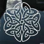 Наклейка кельтский бесконечный узел орнамент 3