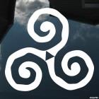 Наклейка кельтский орнамент