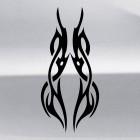 Наклейка кельтский узор орнамент татуировка 11