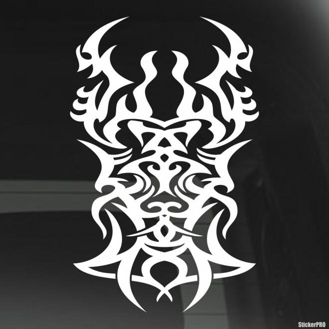 Наклейка кельтский узор орнамент татуировка 2