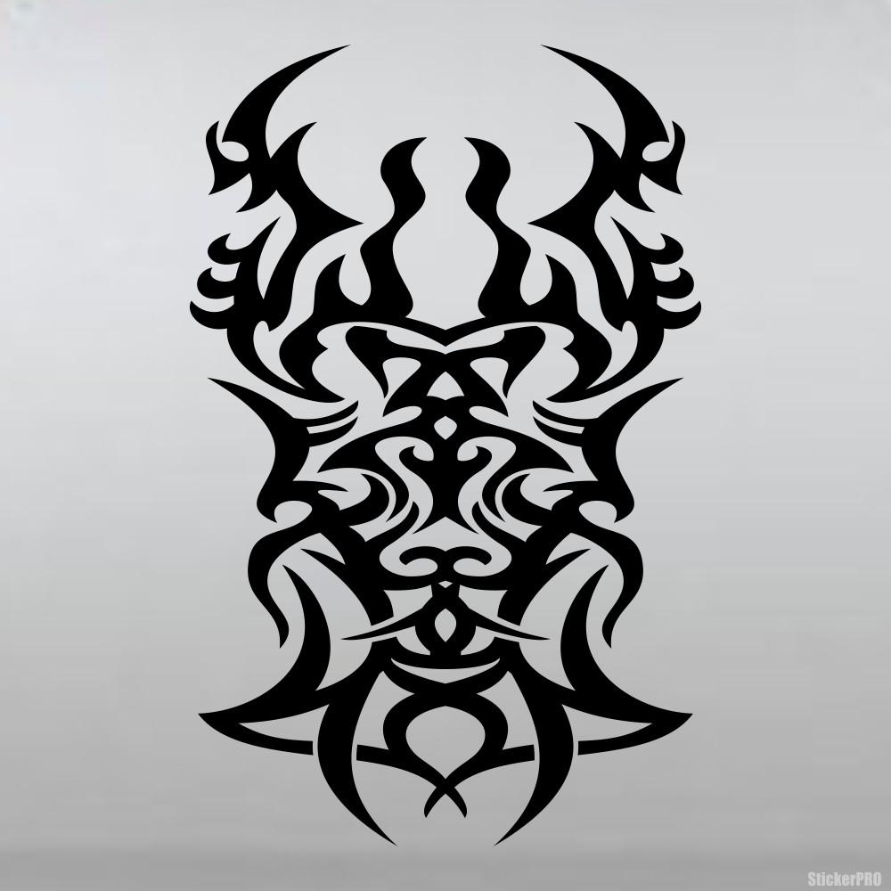 Кельтский узор ворона