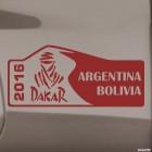 Наклейка Dakar 2016 логотип Аргентина Боливия