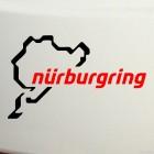 Наклейка STR гоночная трасса в Германии Нюрбургринг