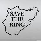 Наклейка Save The Ring Нюрбургринг