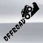 Наклейка offroad внедорожник