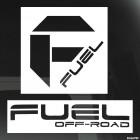 Наклейка F fuel off road