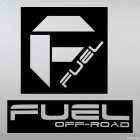 Наклейка F fuel off road