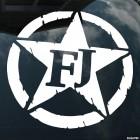 Наклейка Toyota FJ Cruiser
