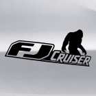 Наклейка Toyota FJ Cruiser Йети