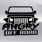 Наклейка Angry Off Road Jeep