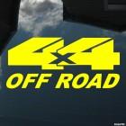 Наклейка 4x4 Off Road лого