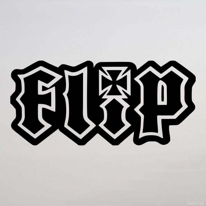 Наклейка Flip
