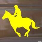 Наклейка конкур, конный спорт