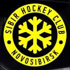 Наклейка SIBIR Hockey Club Novosibirsk логотип со снежинкой, зимние виды спорта