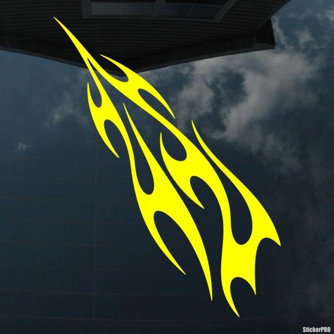 Наклейка пламя флэймз 5