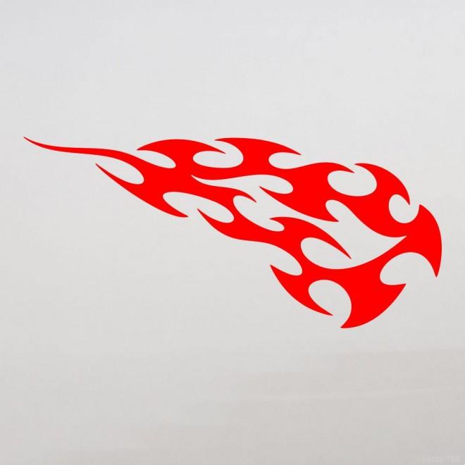 Наклейка пламя флэймз