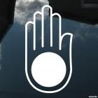 Наклейка рука Джайнизм