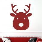 Наклейка рождественский олень Ноэль