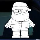 Наклейка Дед Мороз